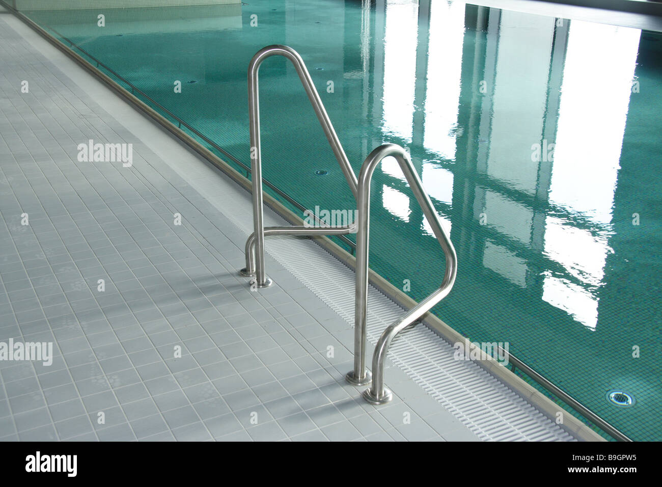 indoor swimming pool basins entry handrails swimming pool pools