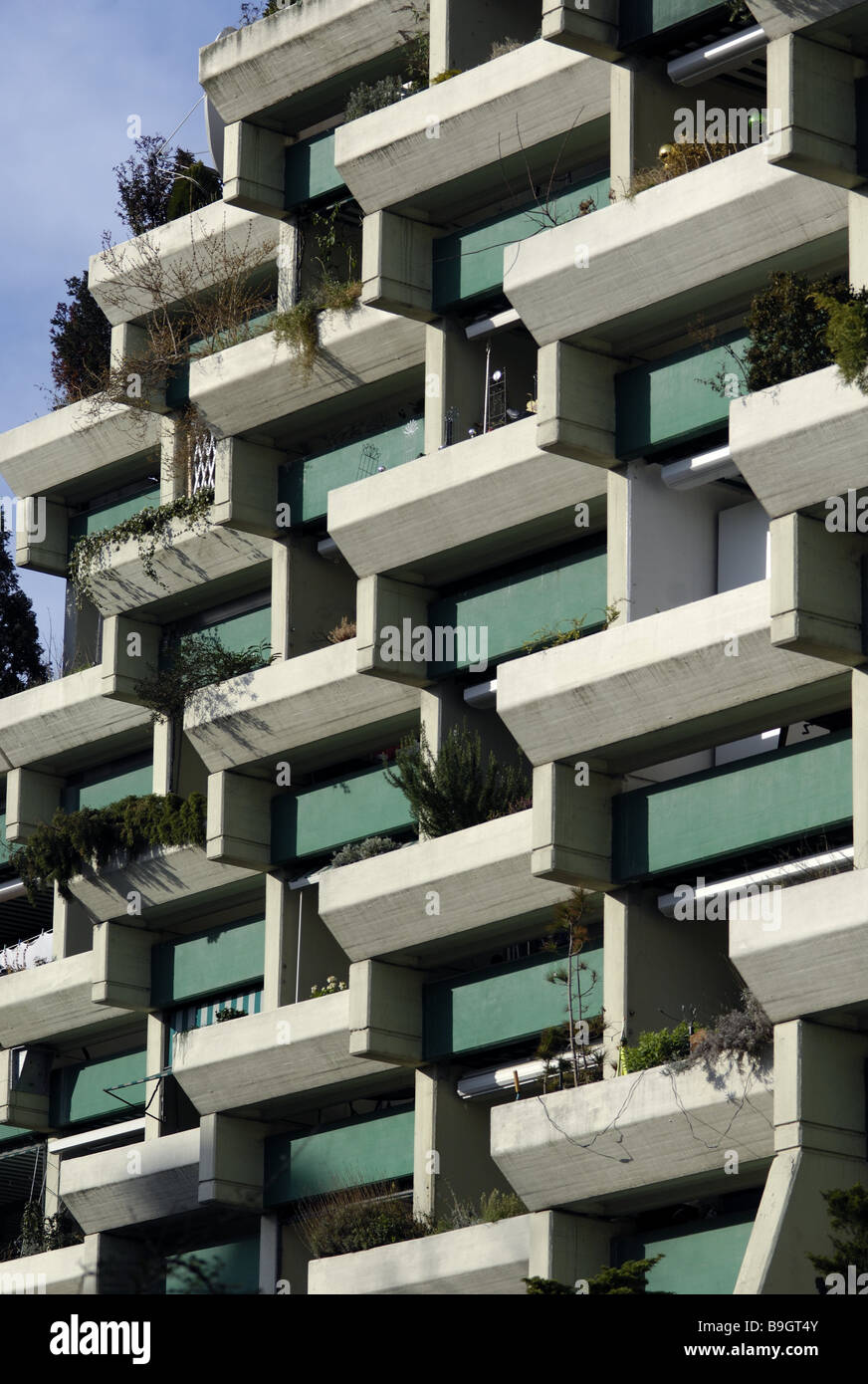 Residential High Rise Facade Detail High Rise Buildings