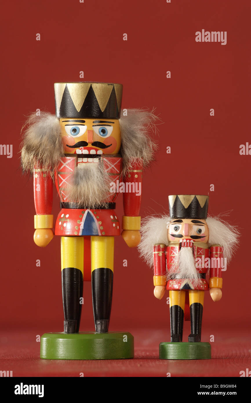 christmas nutcrackers two different Stock Photo: 23113332 - Alamy