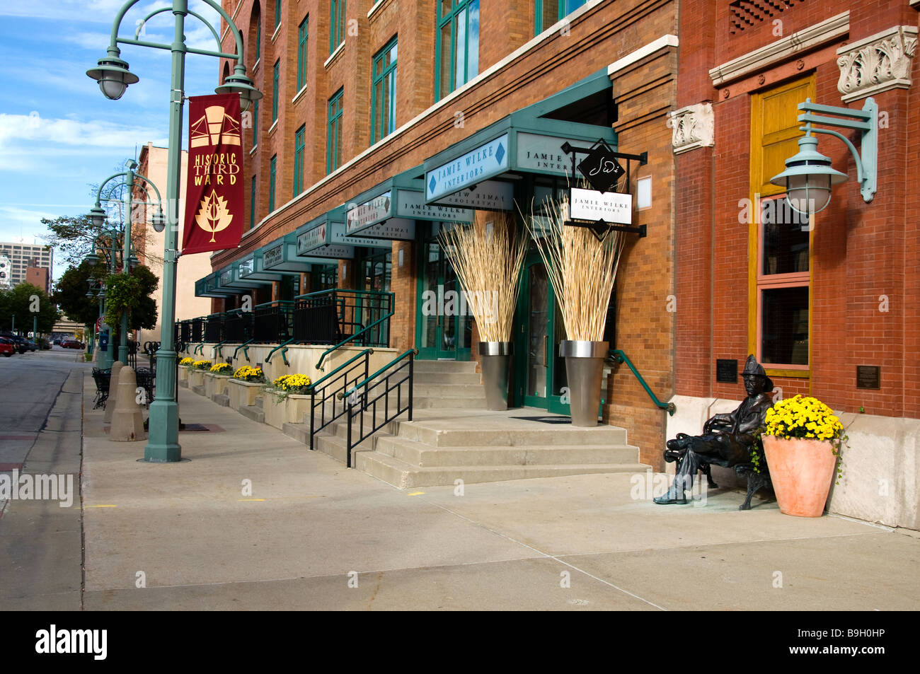 the third ward historic a renovated warehouse district in milwaukee