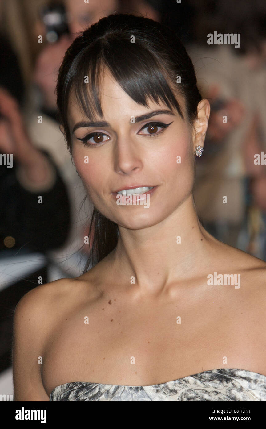 Jordana Brewster fast and furious premier - Stock Image