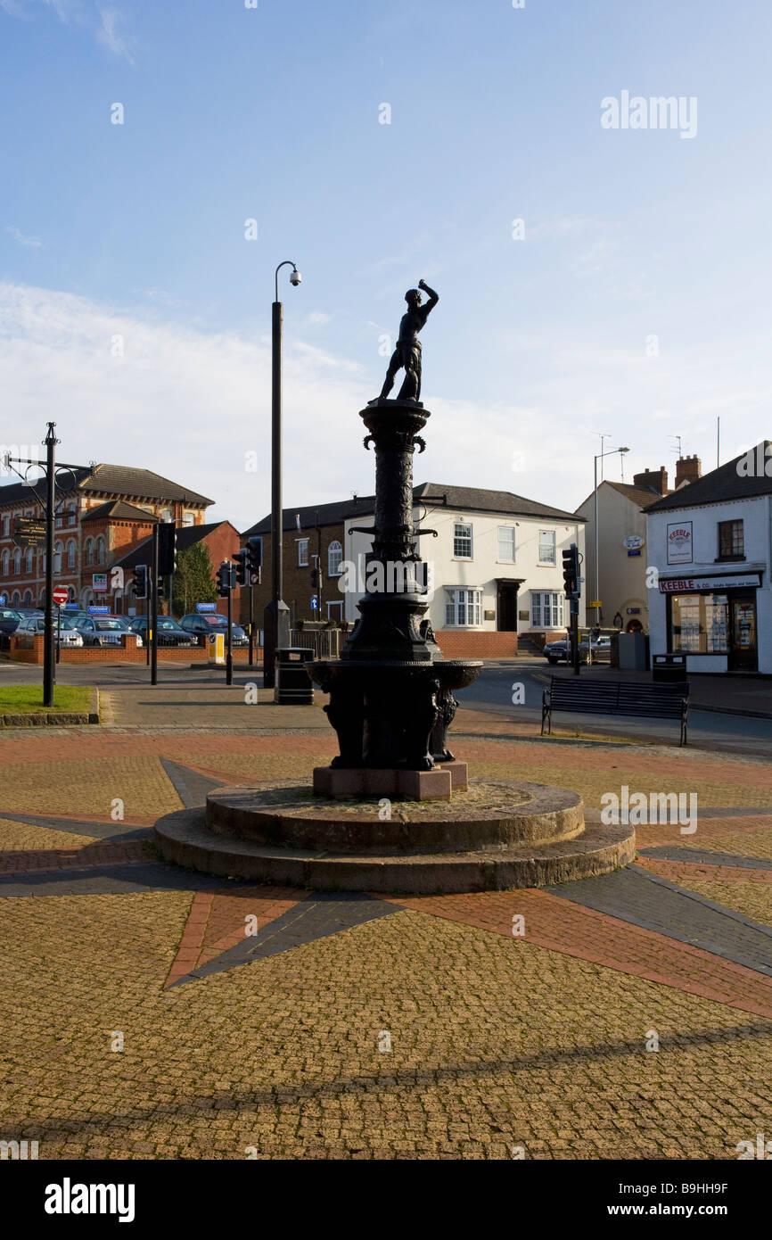 Victorian Drinking Fountain, Kettering, Northamptonshire, England, UK - Stock Image