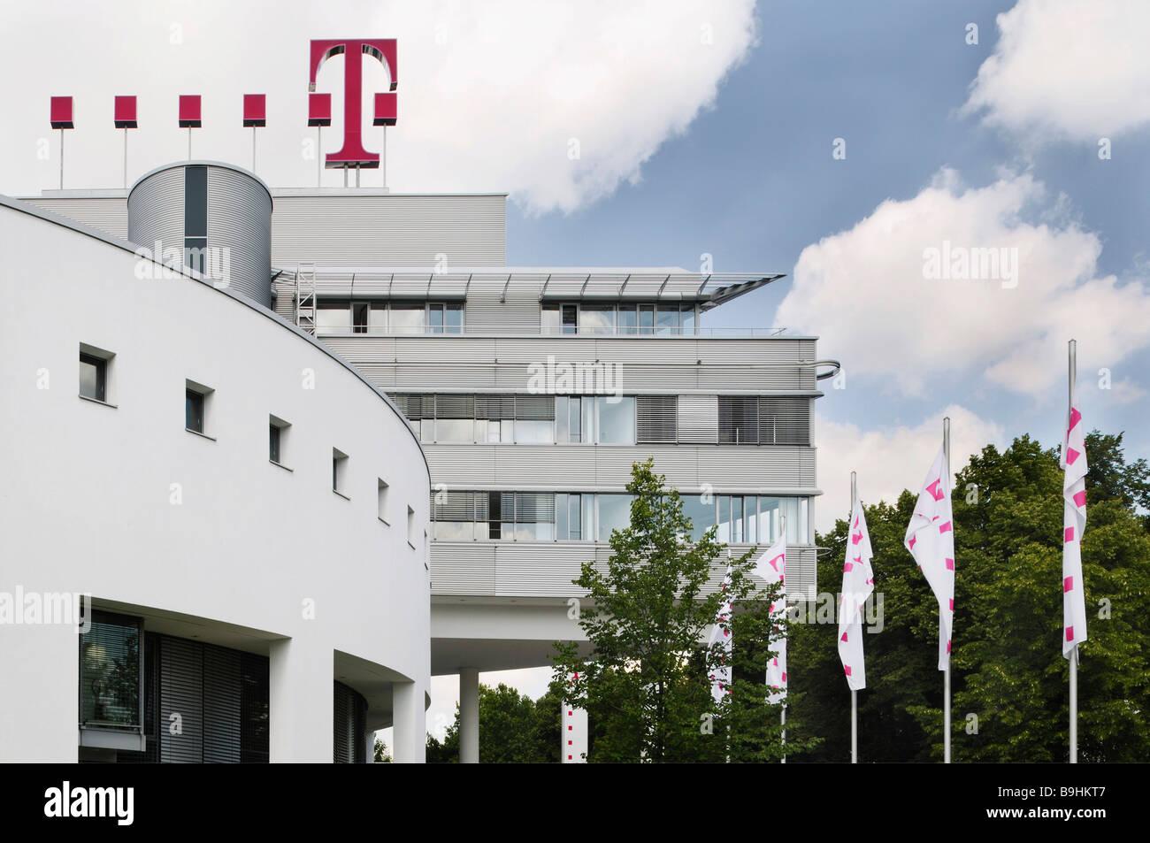 Deutsche Telekom Headquarters, Bonn, North Rhine-Westphalia, Germany, Europe - Stock Image