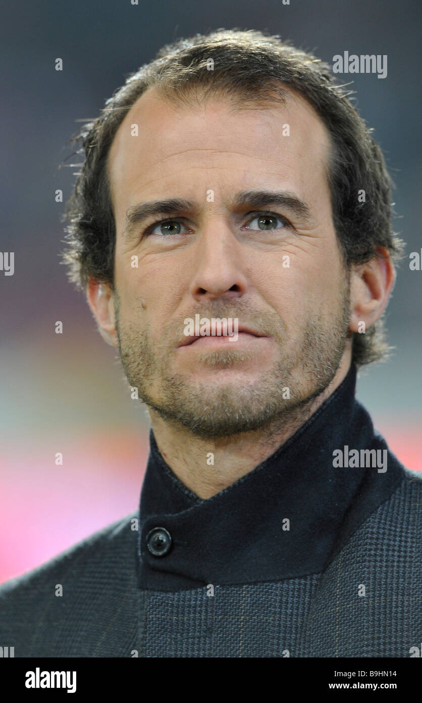 Portrait of the former member of the German national soccer team Mehmet Scholl Stock Photo