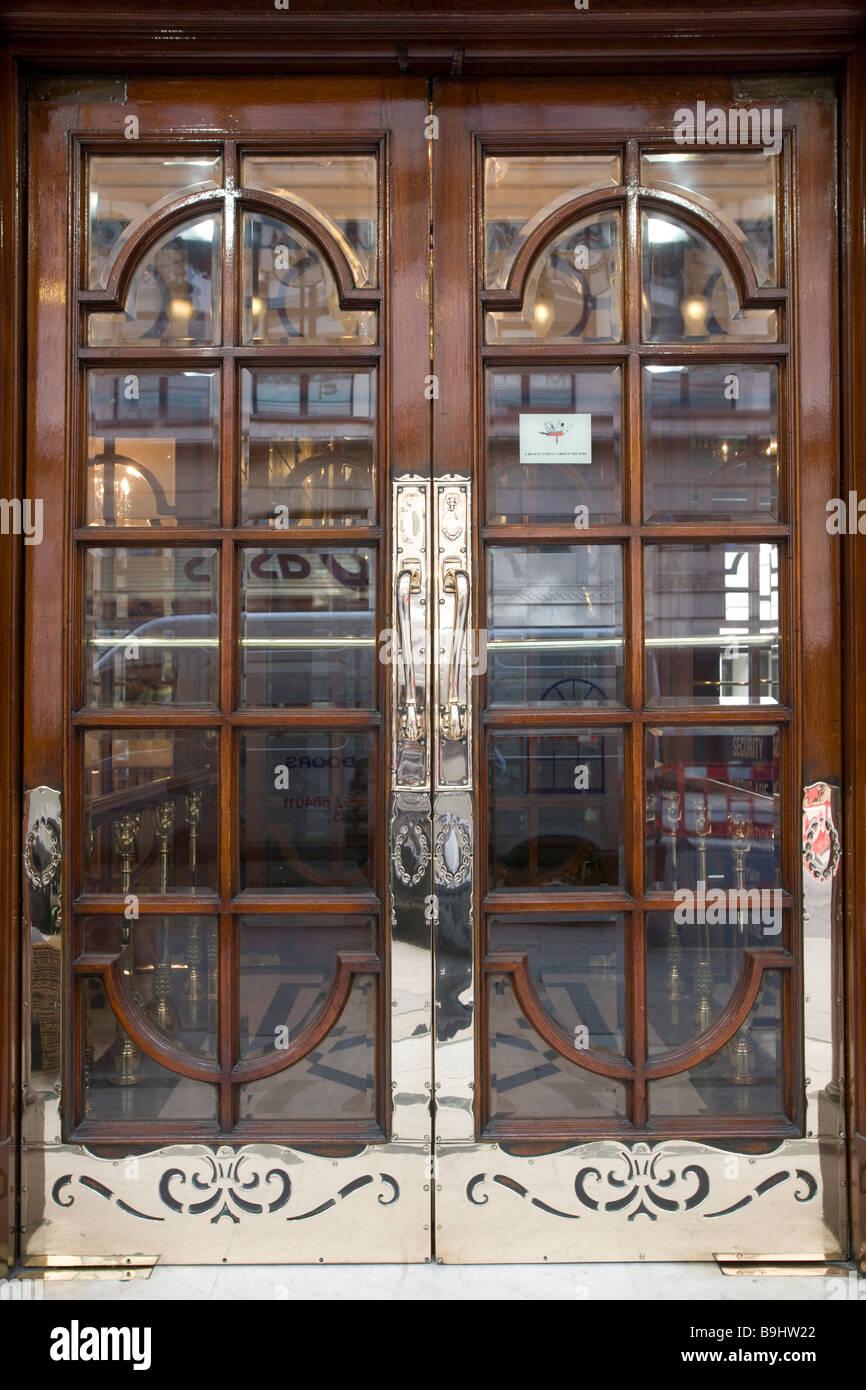 Palladium Theatre Doors in London England & Palladium Theatre Doors in London England Stock Photo: 23135114 - Alamy