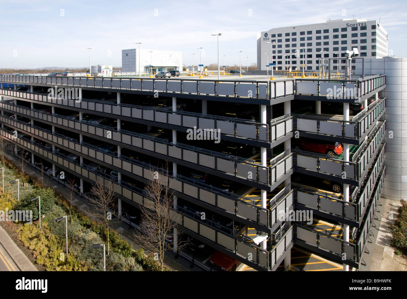 Multi Storey Car Park Manchester Airport