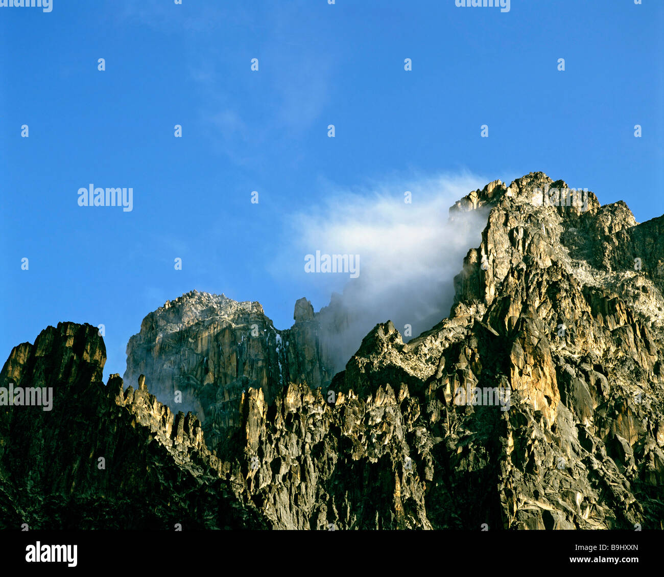 Mount Kenia, Kenia, Central Africa - Stock Image