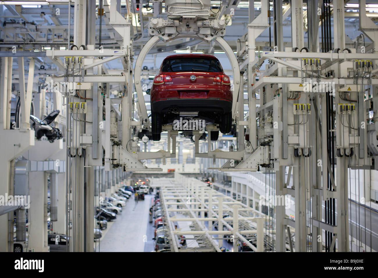 Tiguan production, VW factory - Stock Image