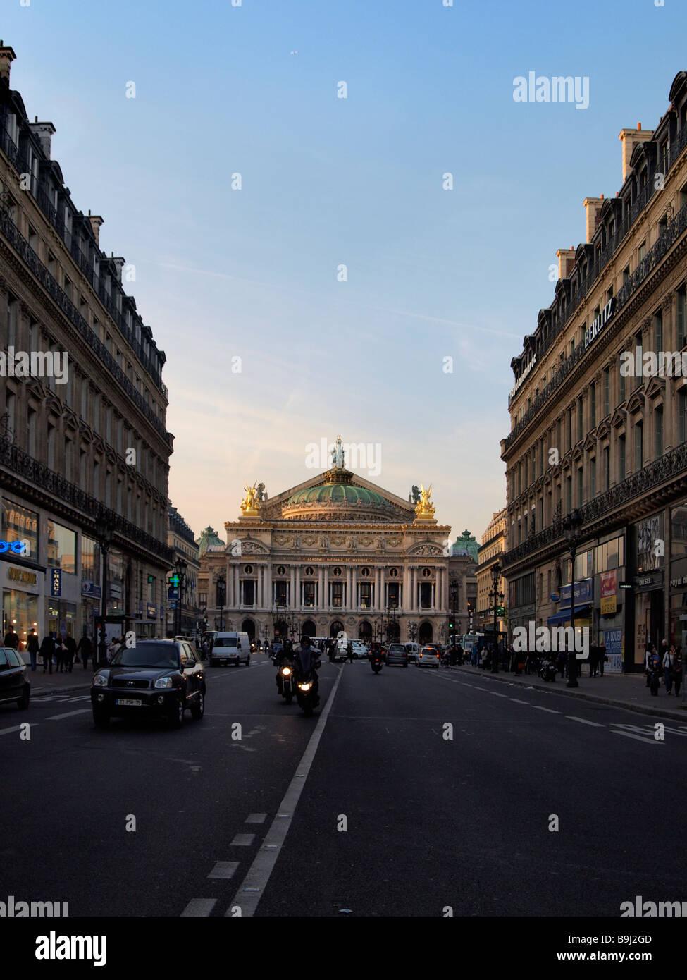 Opera Garnier, old opera, Paris, France, Europe - Stock Image