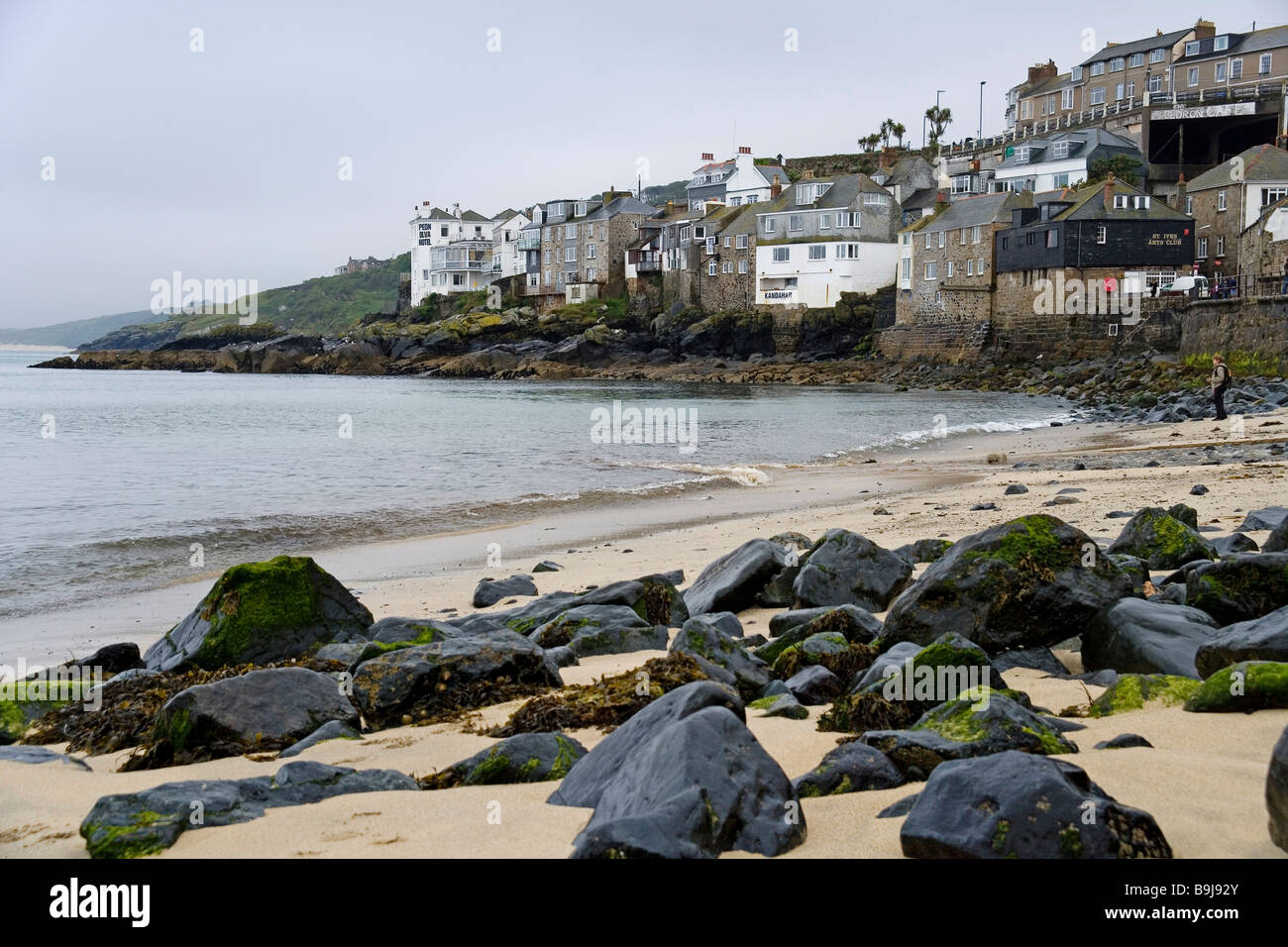 Coast of St. Ives, Cornwall, Great Britain, Europe Stock Photo