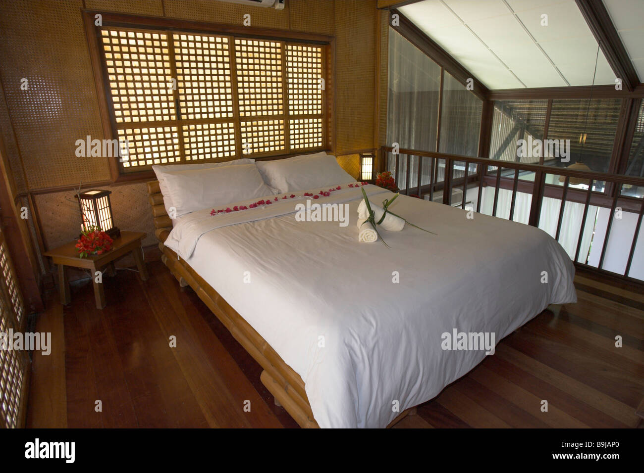 Family suite of the Ananyna Resort, Asia, Philippines, Southeast Asia Stock Photo