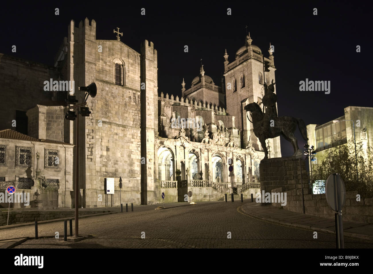 Cathedral of Porto, UNESCO World Heritage Site, Portugal, Europe Stock Photo
