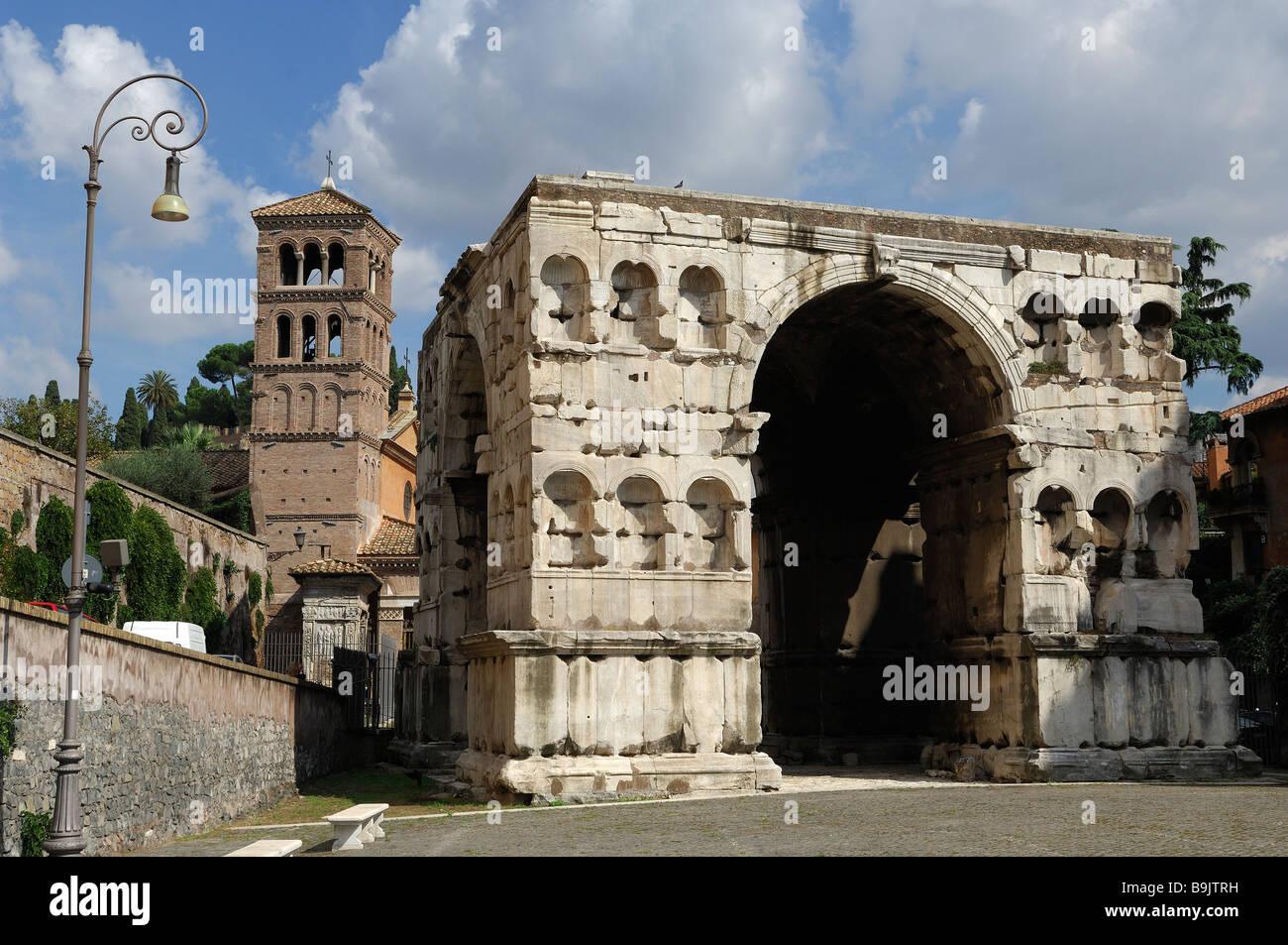 Arch janus rome lazio italy stock photos arch janus rome for Arco arredamenti san giorgio