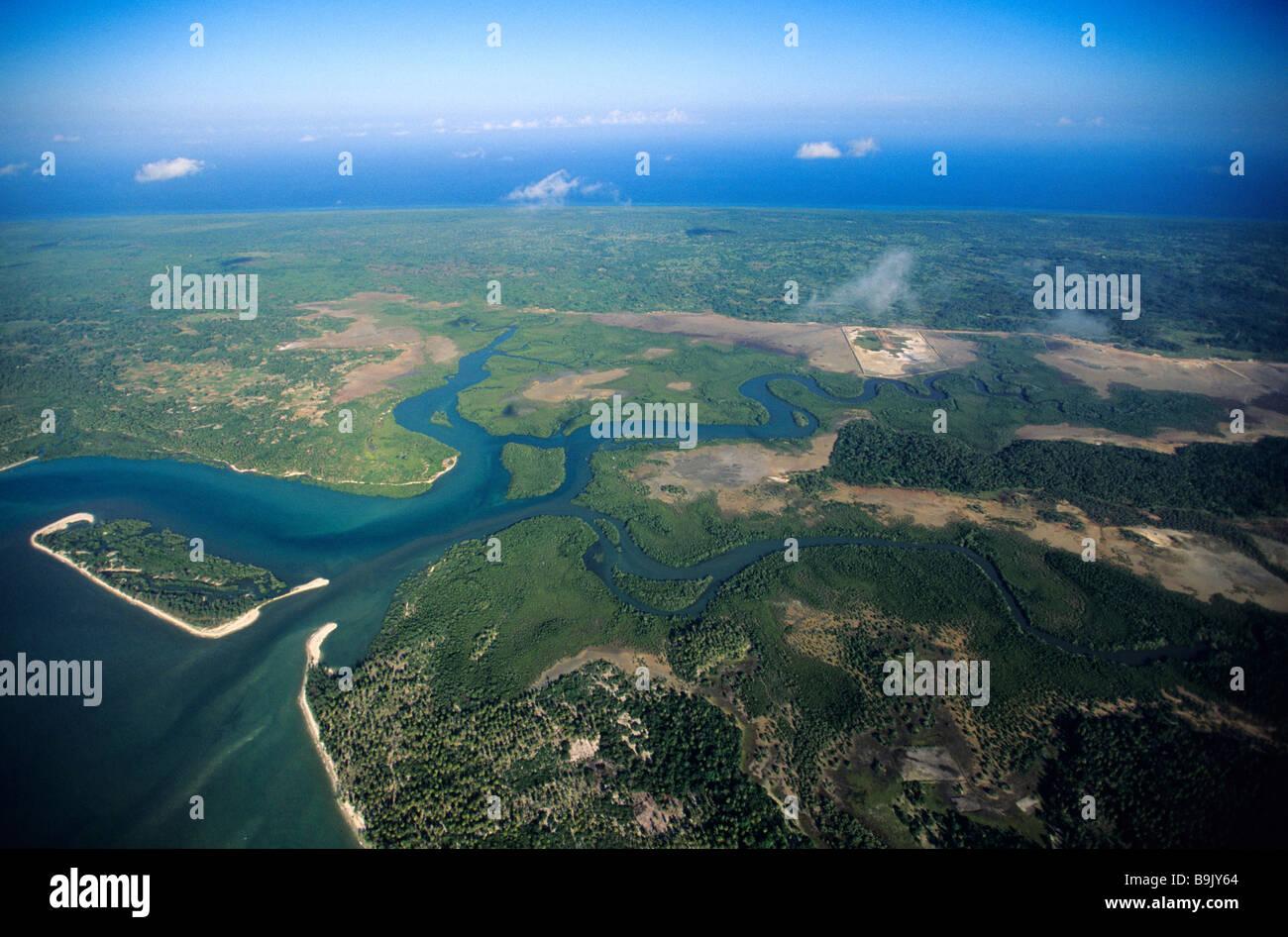 Tanzania, Zanzibar Archipelago, Mafia island, to the south of Unguja island, former trading post between Kilwa and - Stock Image