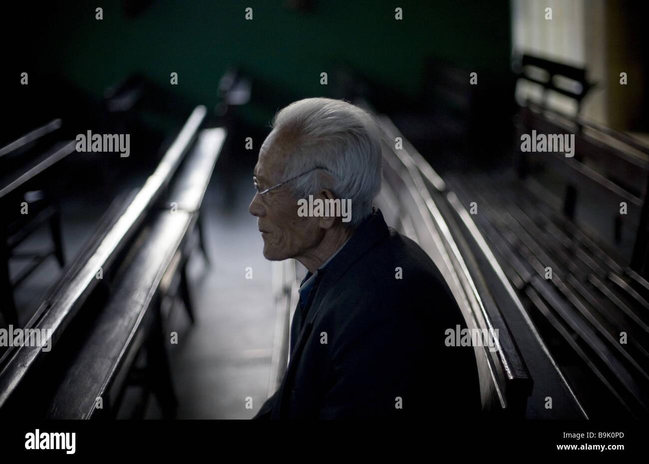 Shanxi Christians - Stock Image