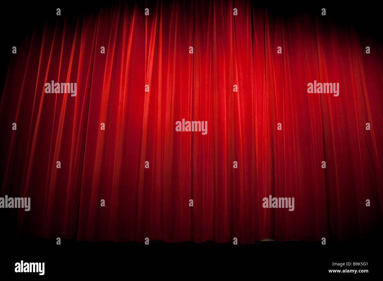 Theatre Curtains Stock Photos Images