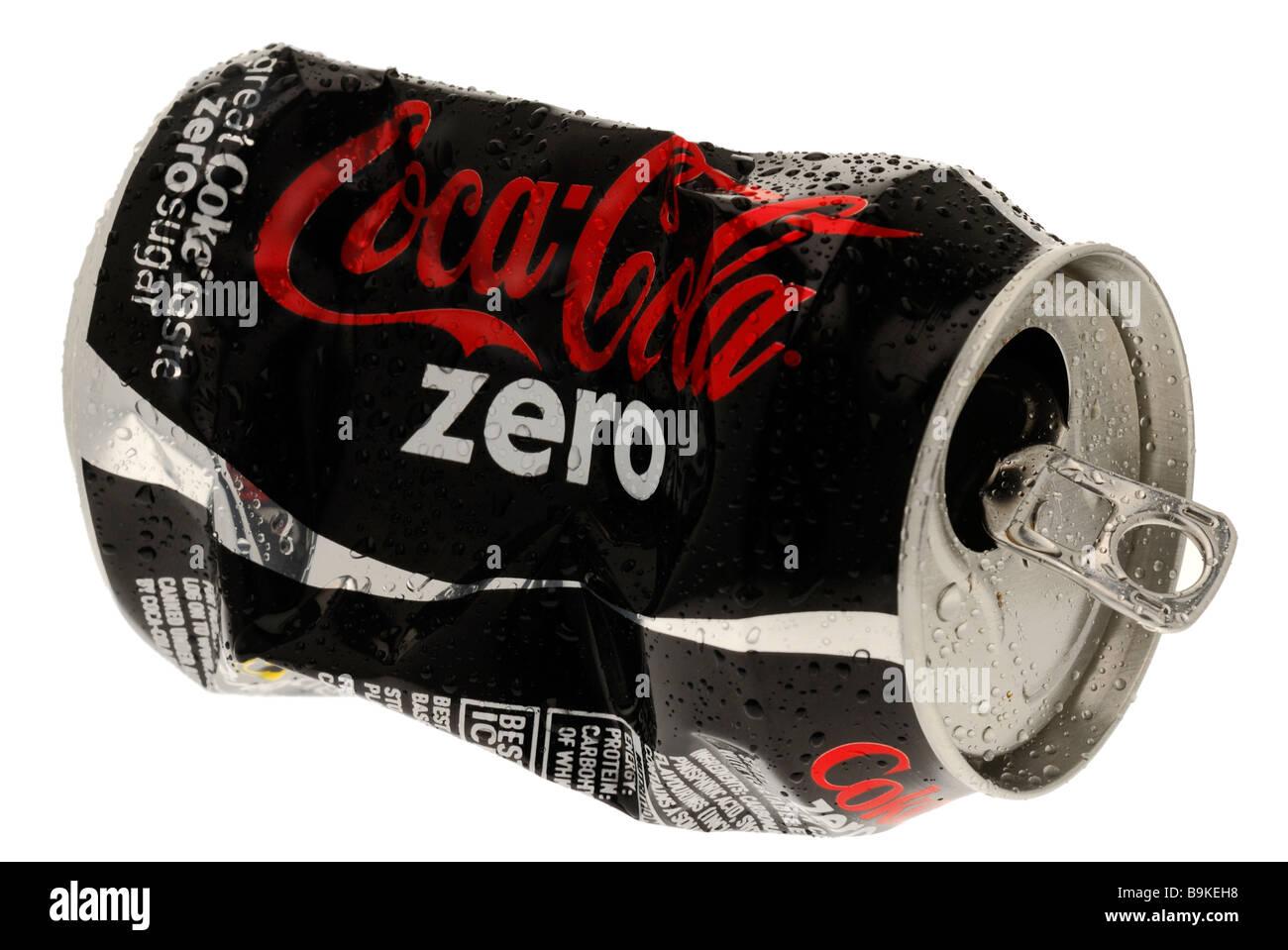 Can of Coca Cola Zero Stock Photo: 23170820 - Alamy
