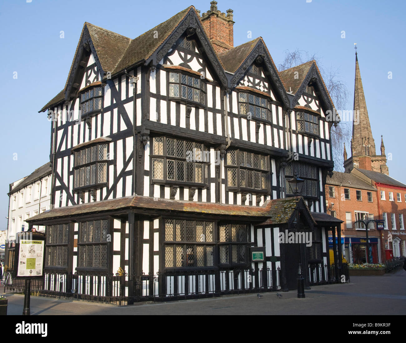 Old House Uk Amazing Interior Design Ideas Wiring Colours Hereford England March The Museum Built 1621 A Fine Rh Alamy Com Home