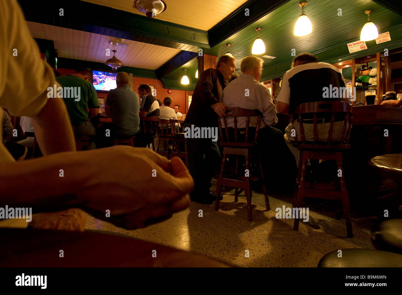 Ireland, County Kildare, Maynooth, Pub the Brady 's - Stock Image