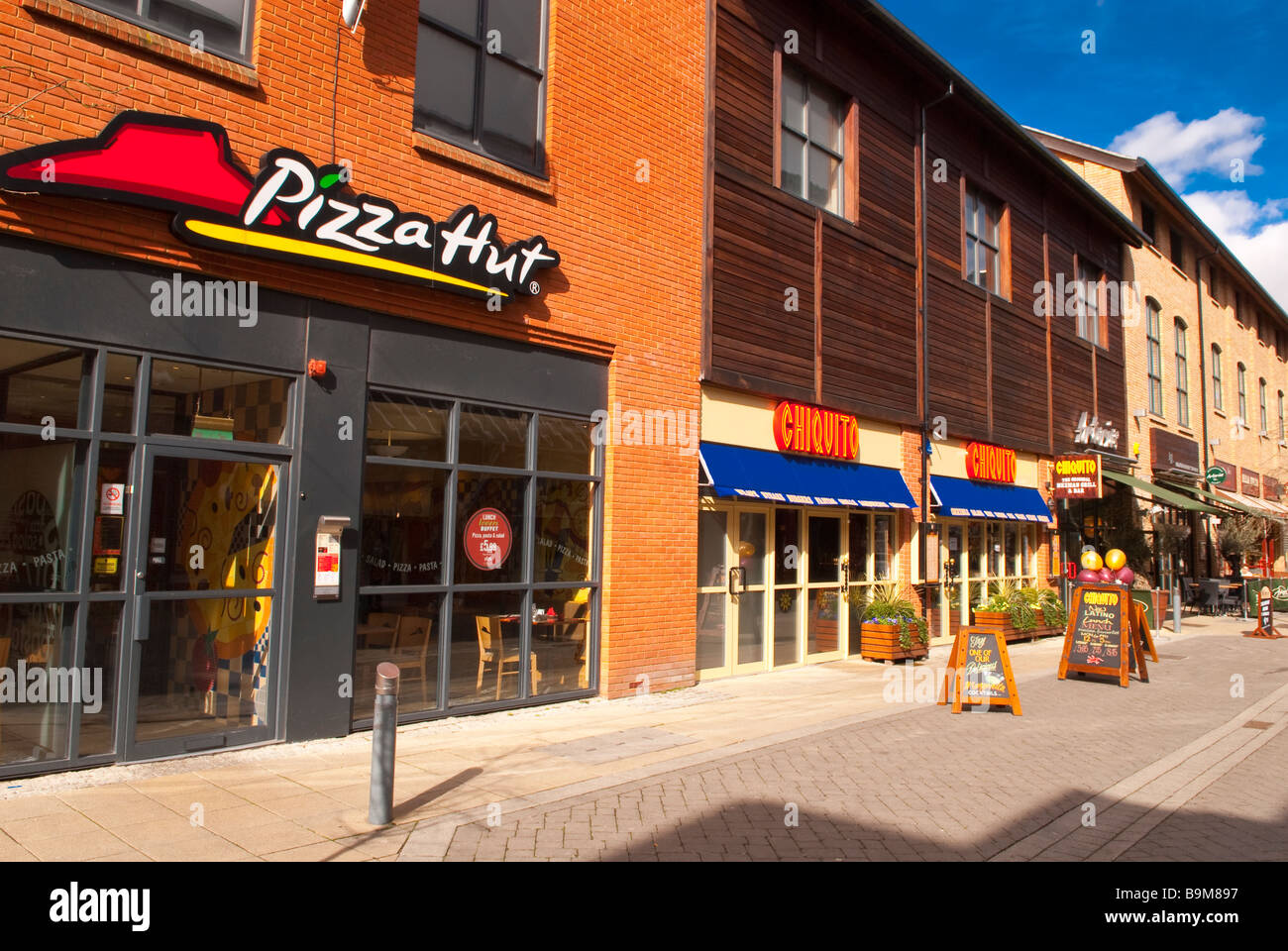 Pizza Hut Chiquito The Original Mexican Grill Bar At The Stock