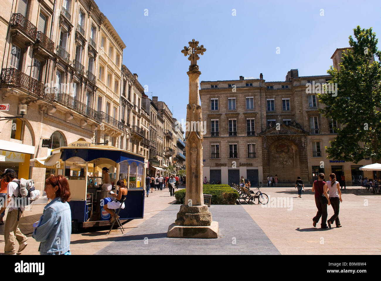 France, Gironde, Bordeaux, area classified as World ...