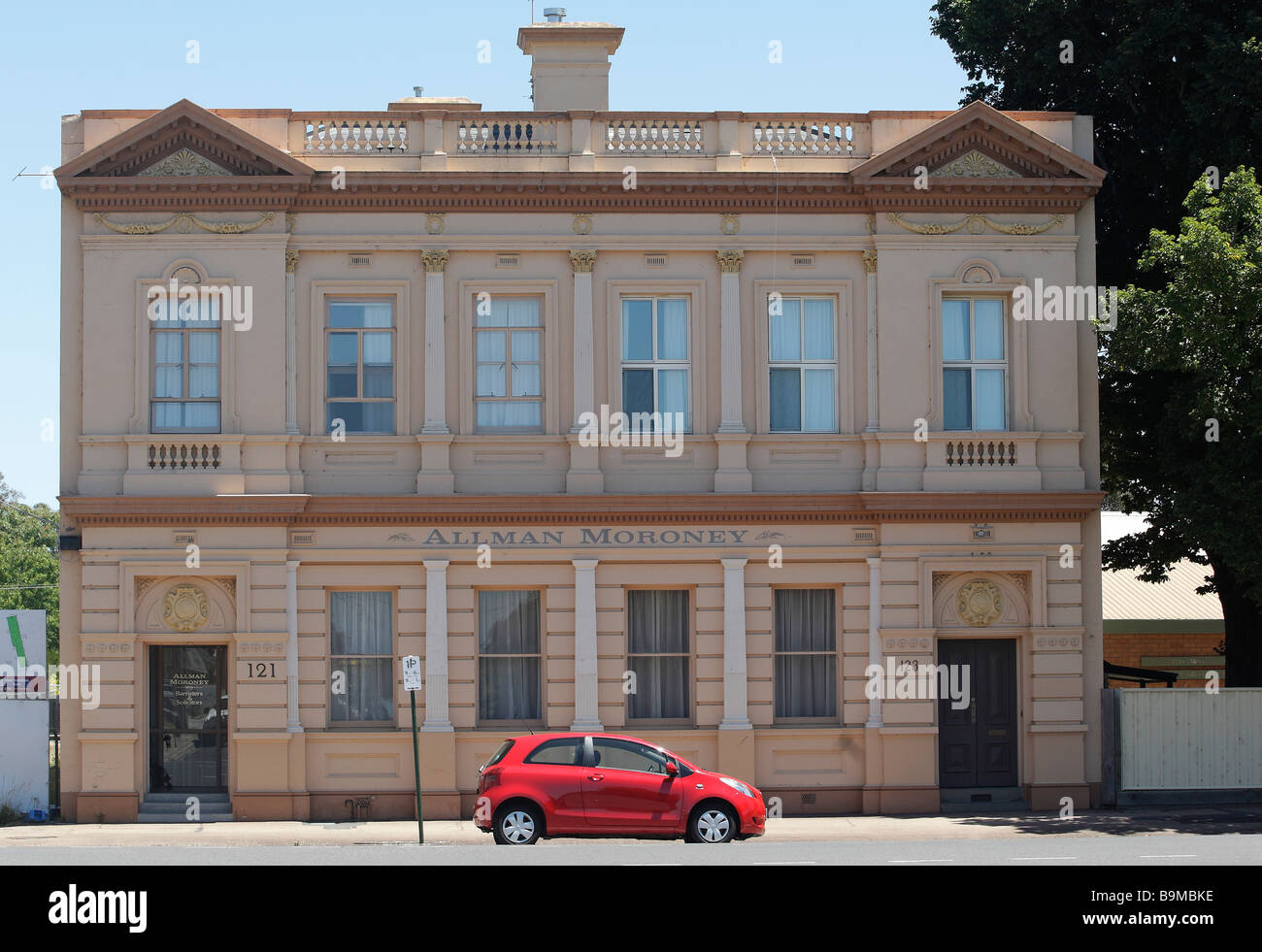 Historical building in Raymond Street, Sale, Gippsland, Victoria, Australia - Stock Image
