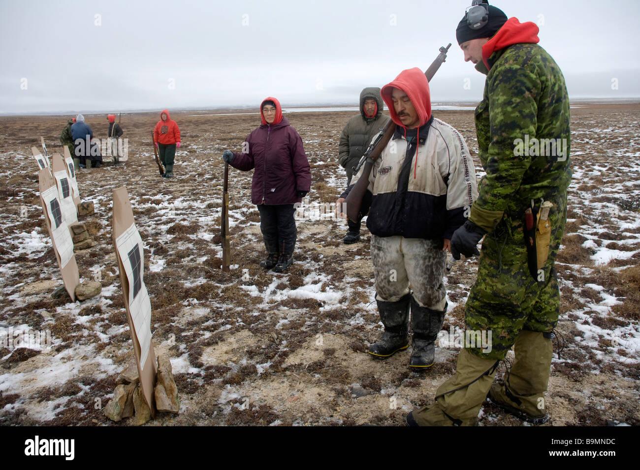 Canadian Rangers - Stock Image