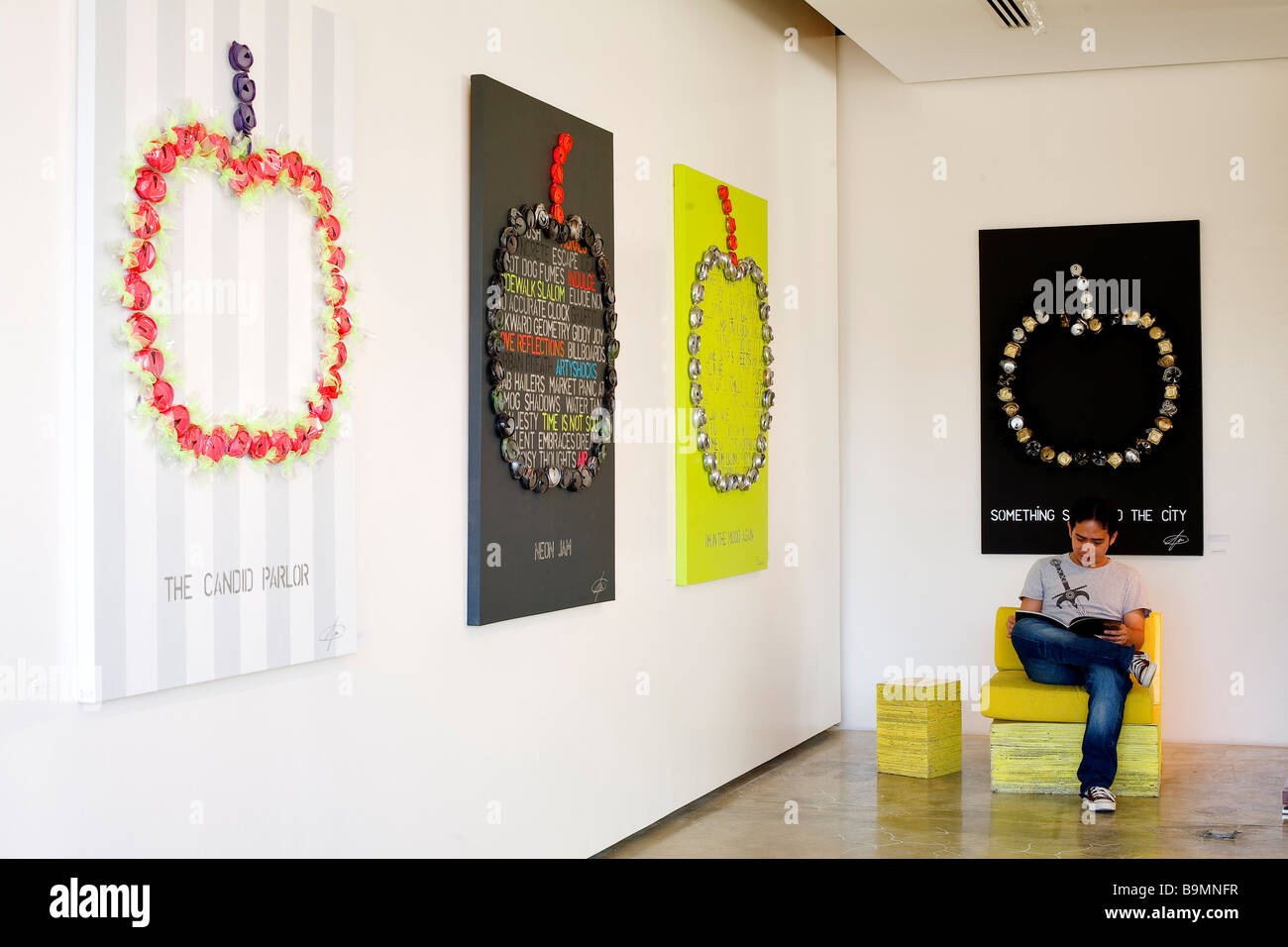 United Arab Emirates Dubai Garden Home Five Green Concept Store Stock Photo Alamy