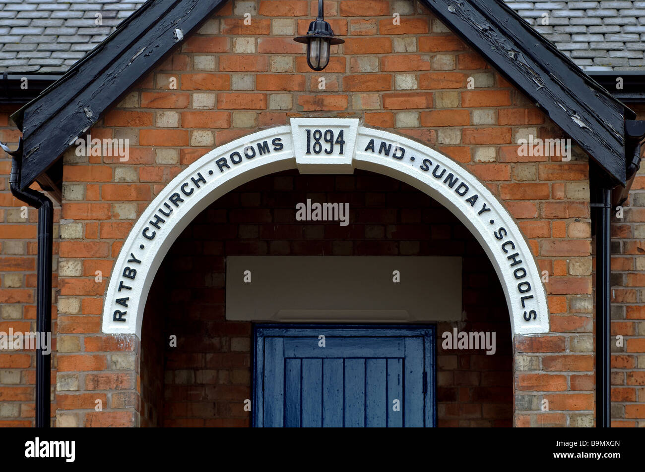 Former Church Rooms and Sunday Schools, Ratby, Leicestershire, England, UK - Stock Image