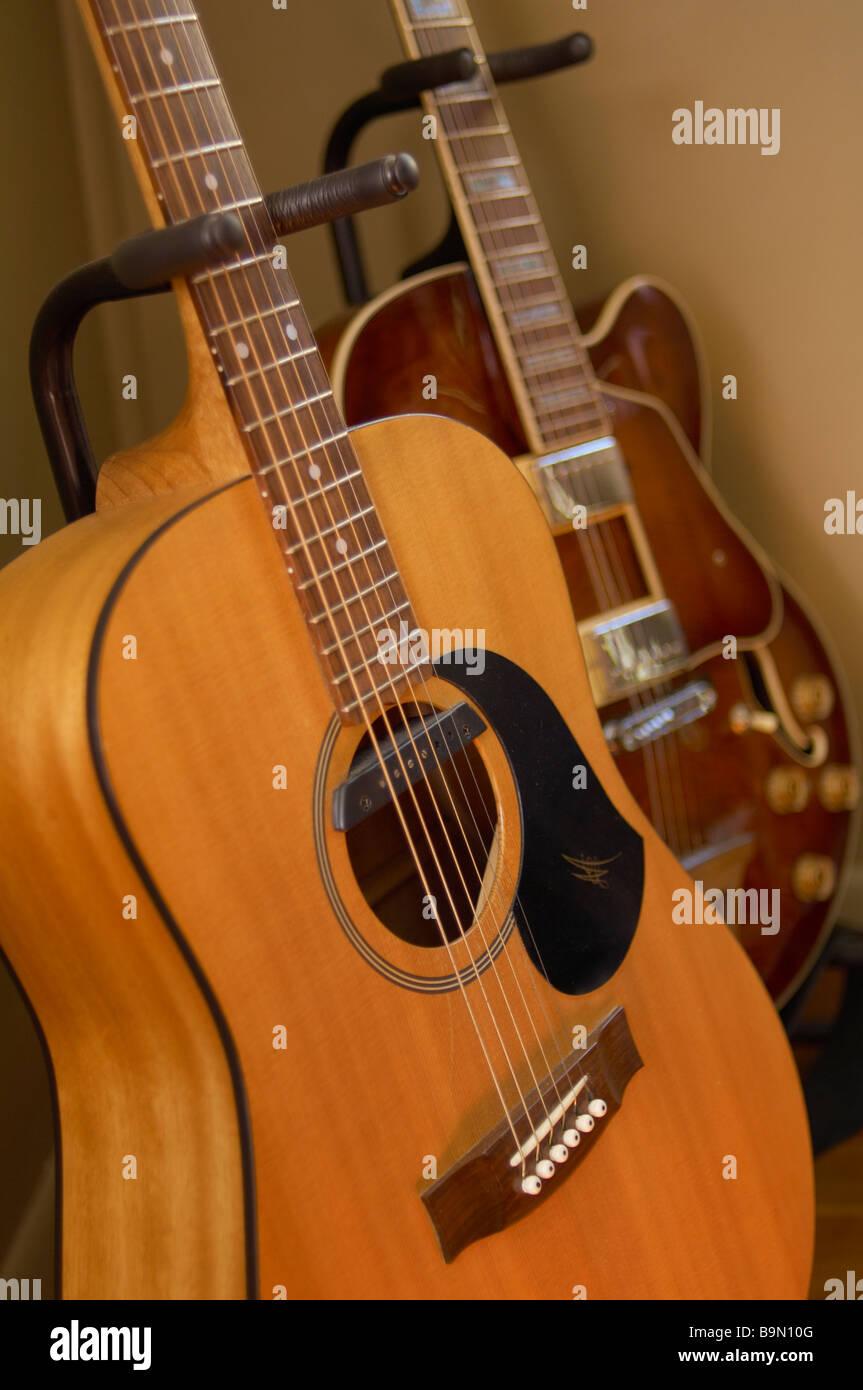 Guitars - Stock Image