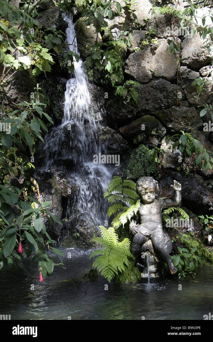Monte Palace tropical Gardens - Stock Image