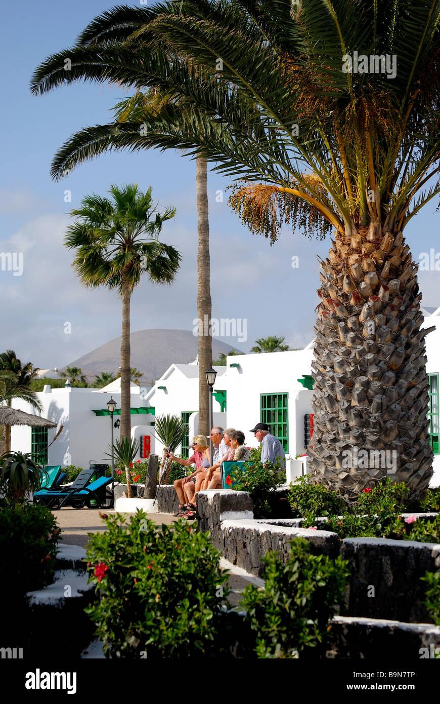 Apartment complex, Playa de Matagorda, Puerto del Carmen ...