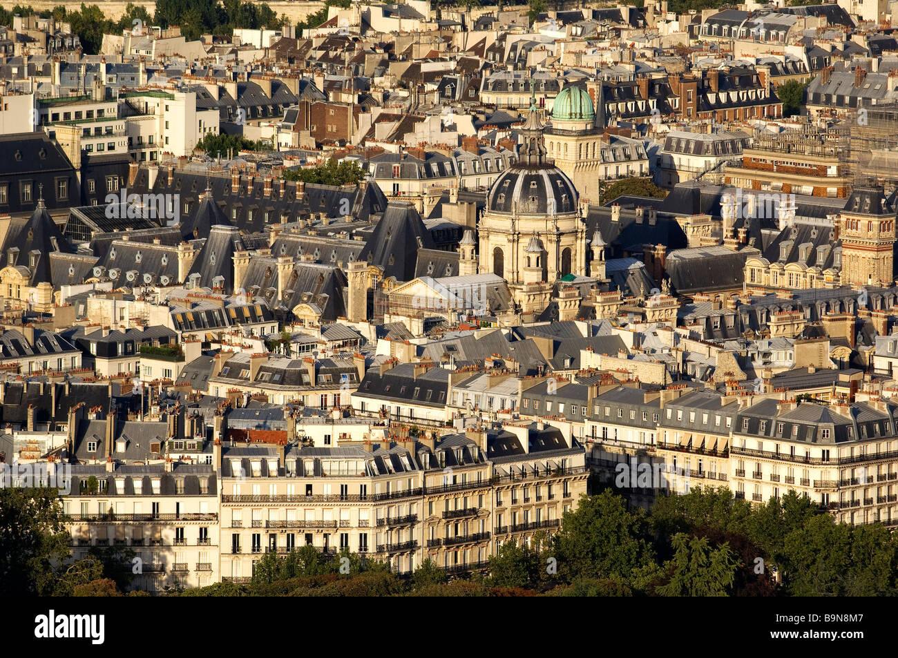 France, Paris, the Sorbonne - Stock Image