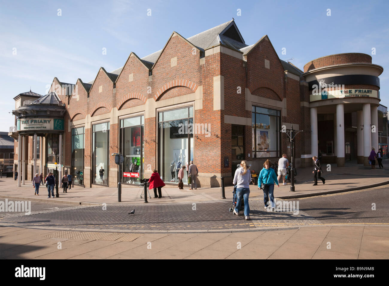 Guildford Surrey England UK The Friary Shopping Centre building exterior - Stock Image