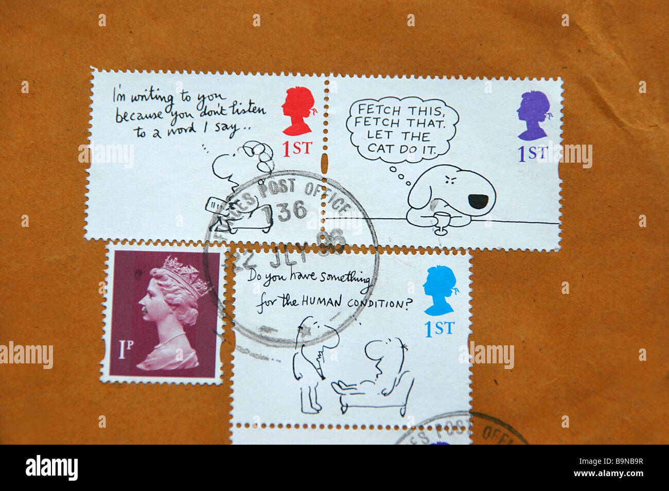 UK Armed Forces Stamp On Snoopy Postage Stamps