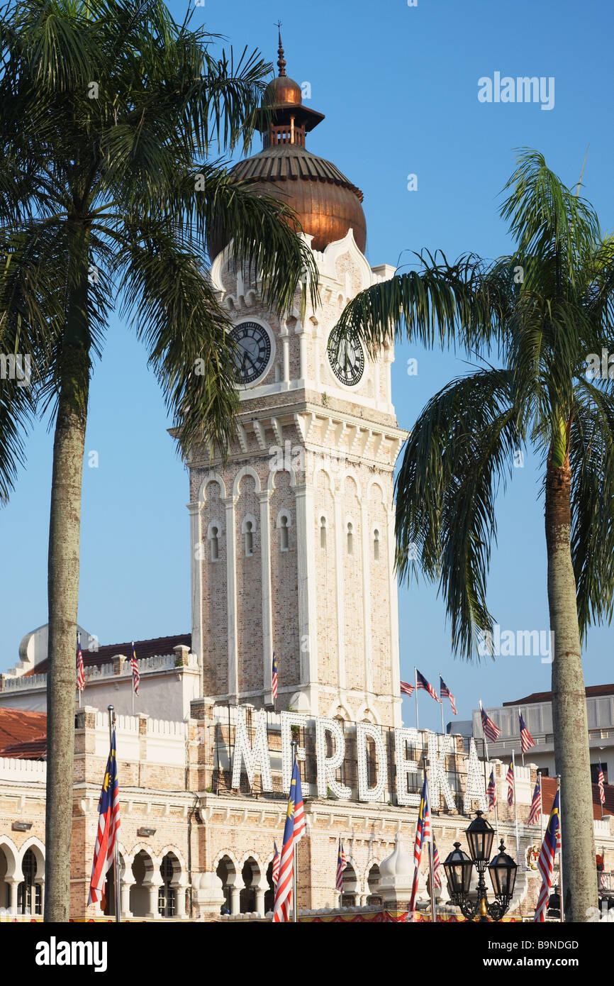 Sultan Abdul Samad Building In Merdeka Square, Kuala Lumpur,Malaysia - Stock Image