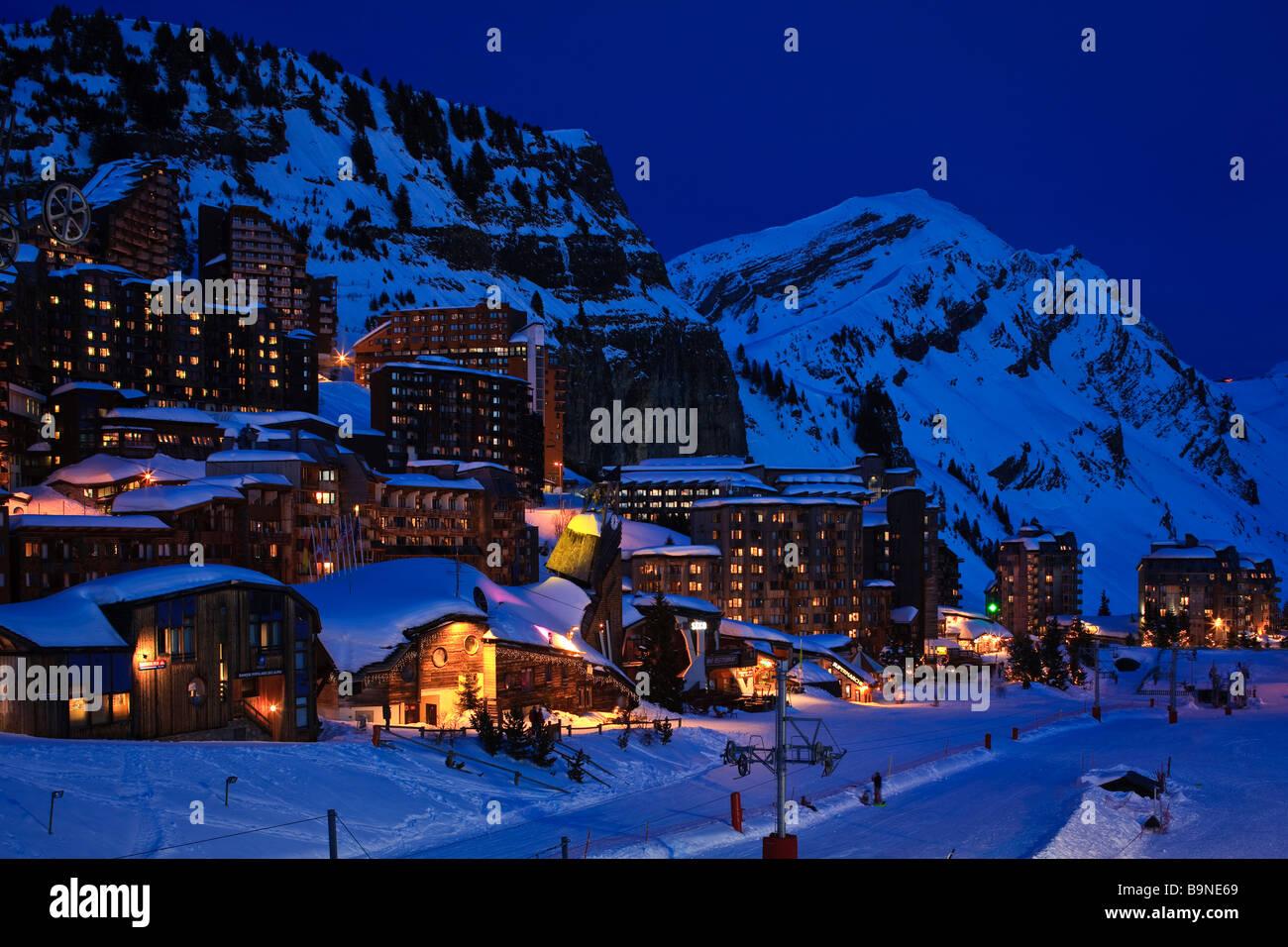 avoriaz ski resort stock photos & avoriaz ski resort stock images