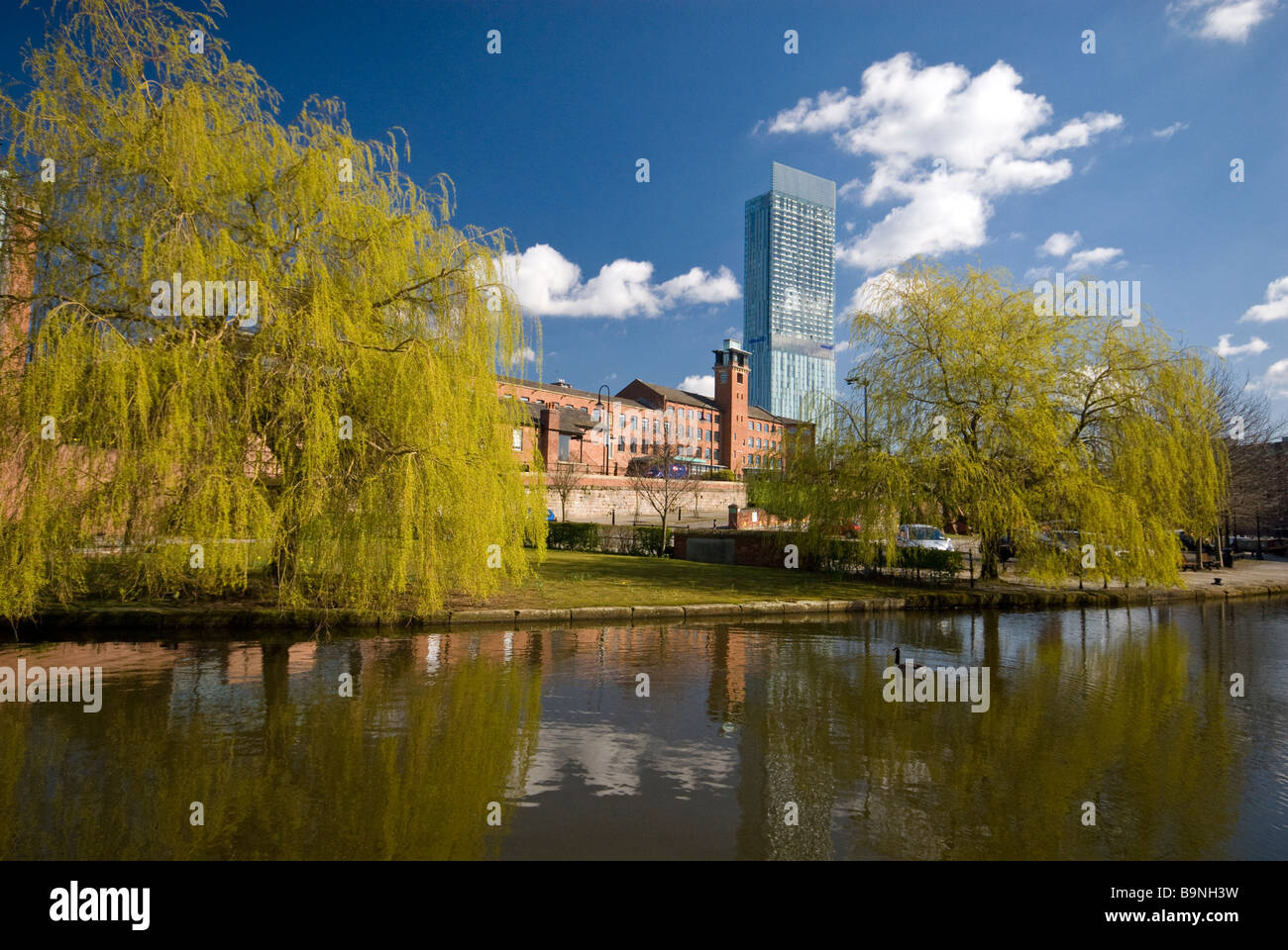 Castlefield District Manchester - Stock Image