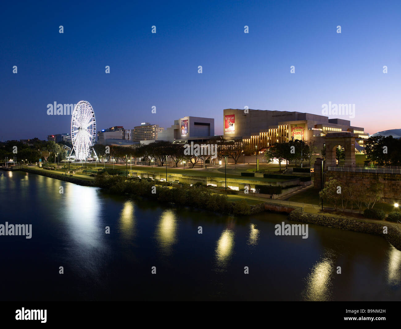 South Bank Brisbane Queensland Australia - Stock Image