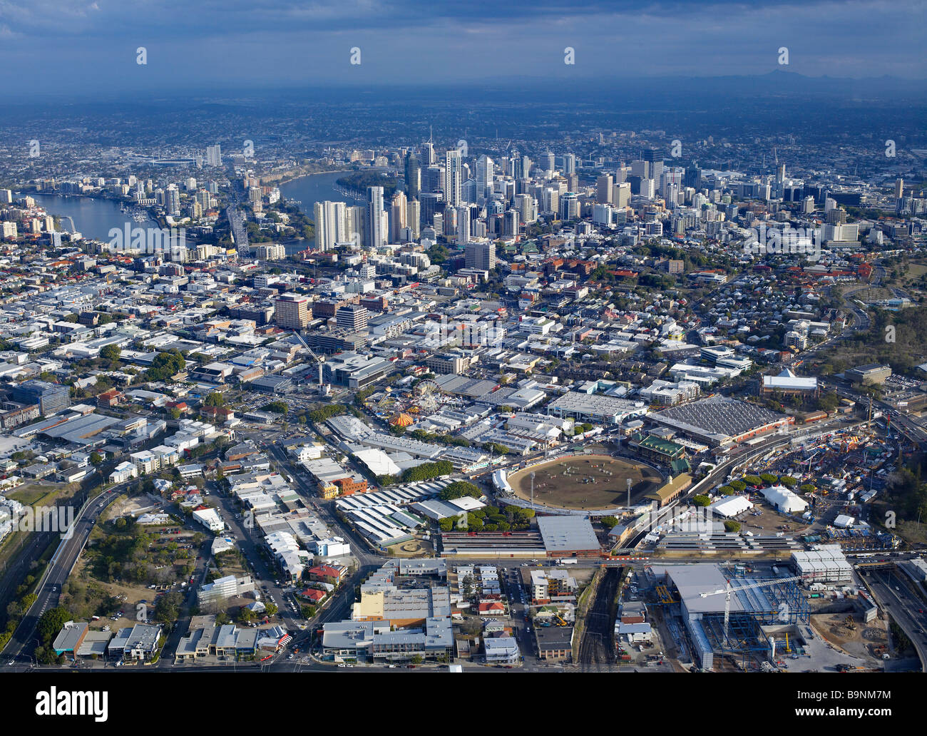 RNA Showgrounds Brisbane city - Stock Image