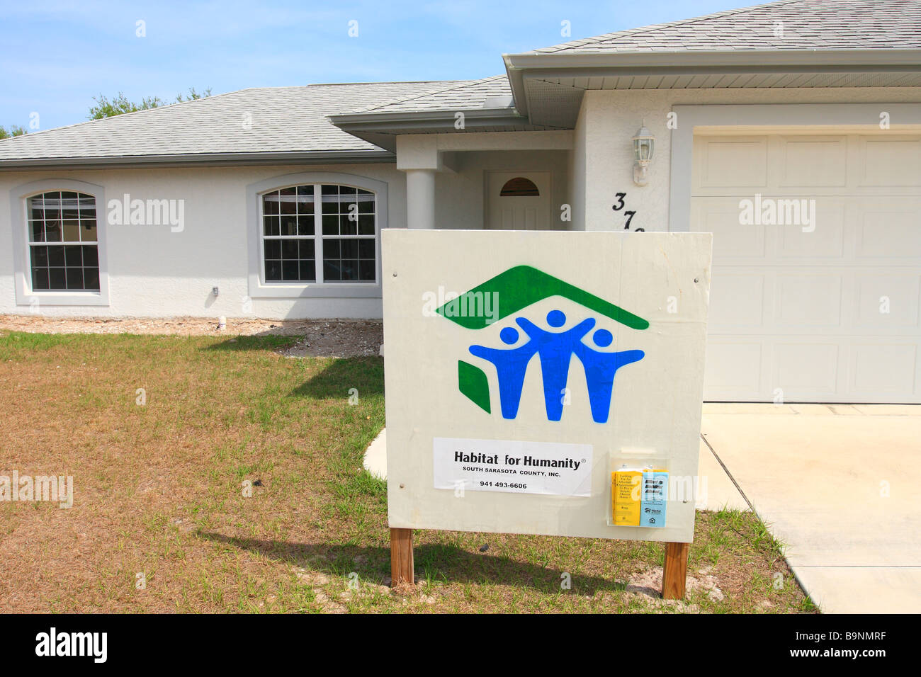 Habitat For Humanity Homes Building Project