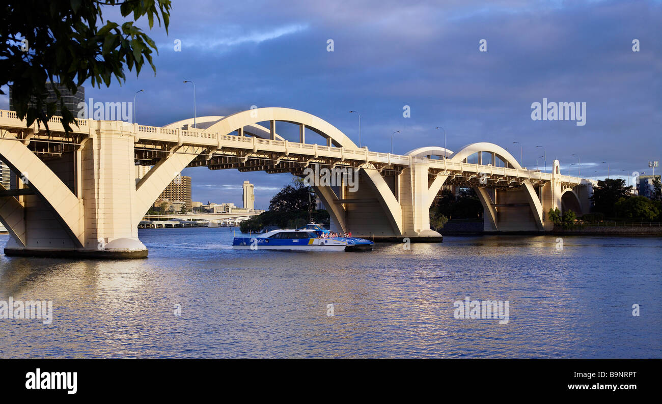 William Jolly Bridge Brisbane Queensland Australia - Stock Image