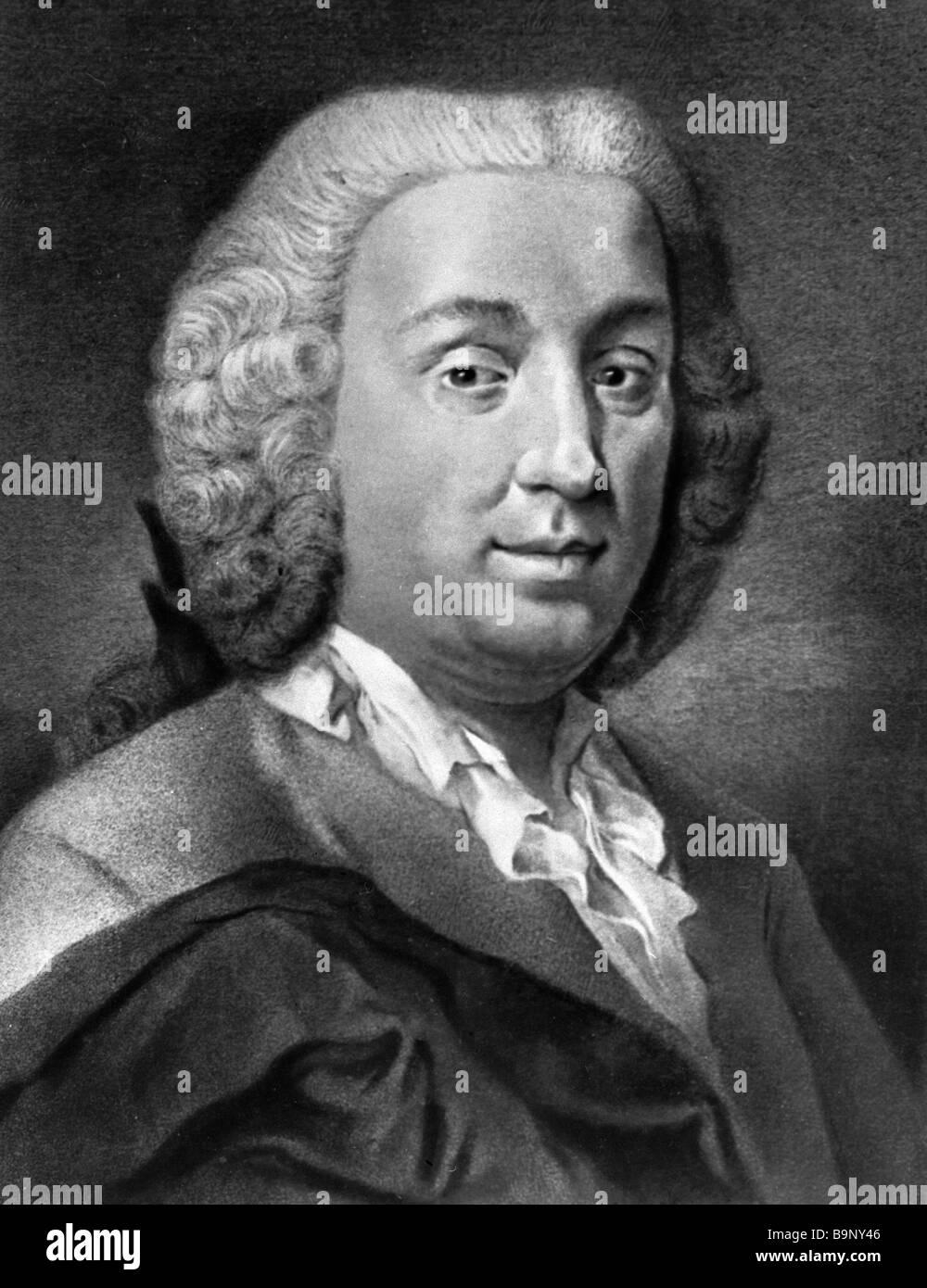 Italian playwright Carlo Goldoni 1707 1793 - Stock Image