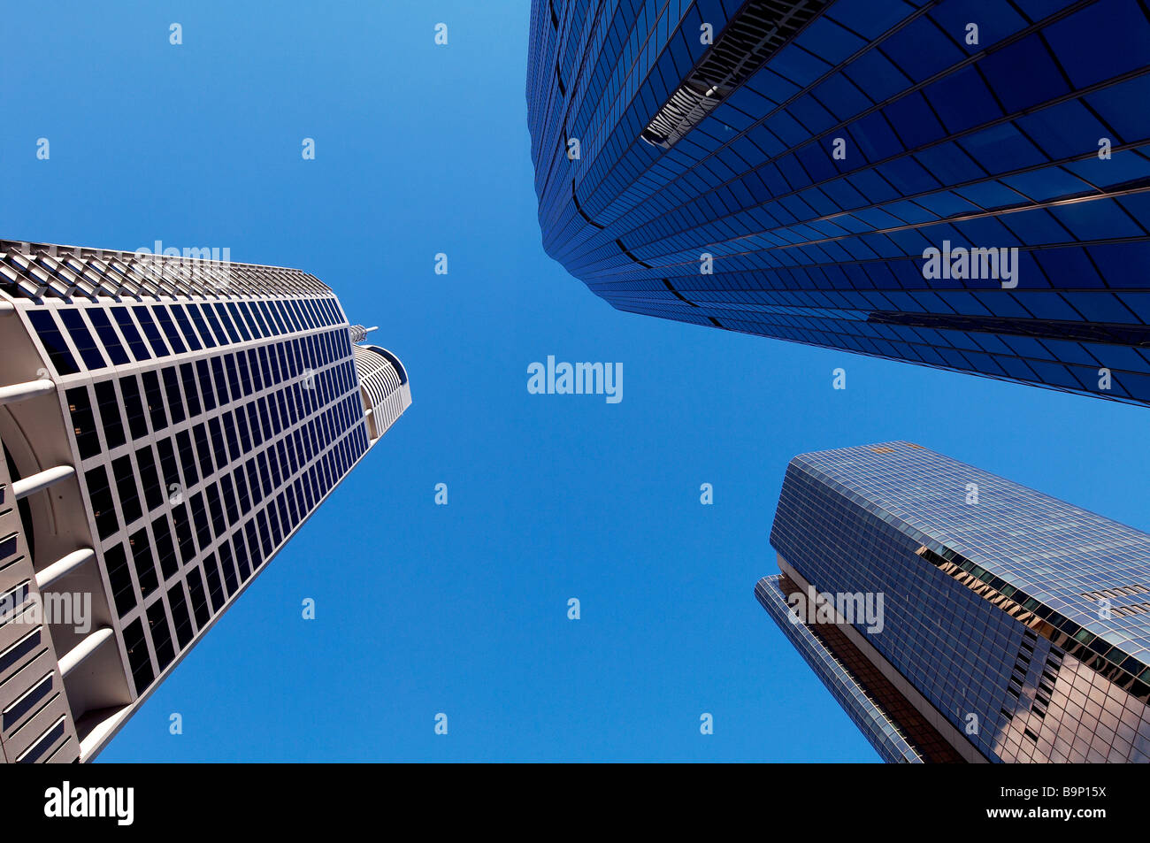 Brisbane Australia City Buildings - Stock Image