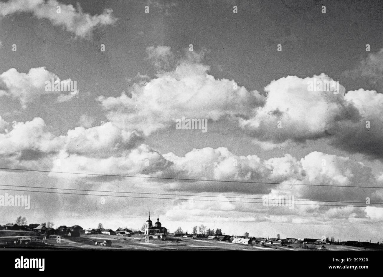 A landscape photographed by Nikita Khrushchev Stock Photo