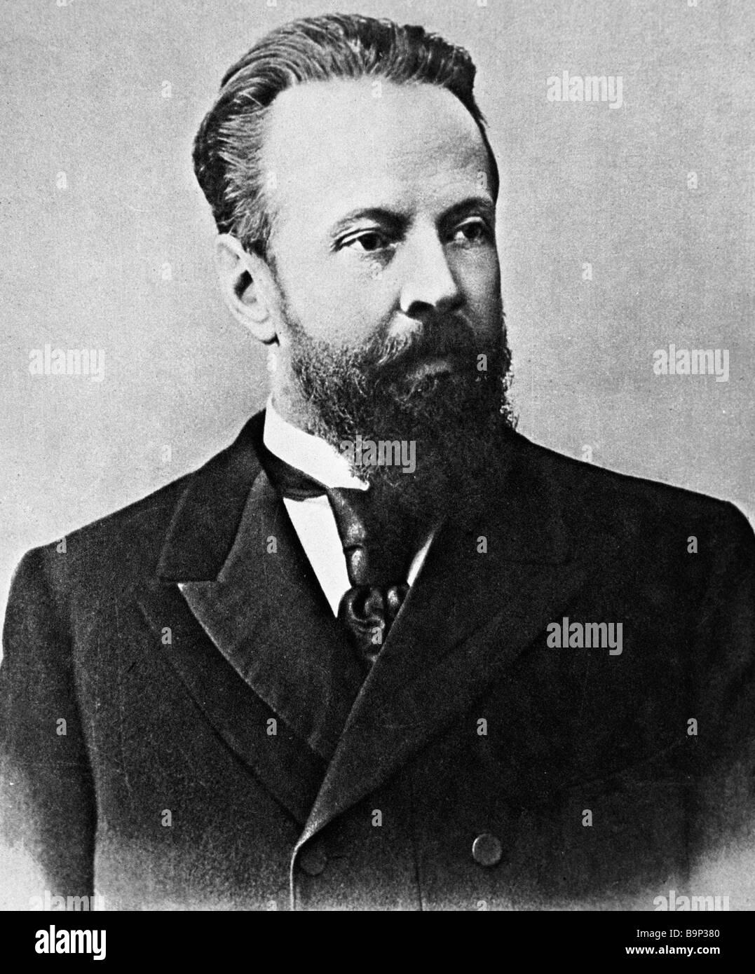 Russian statesman Sergei Witte - Stock Image