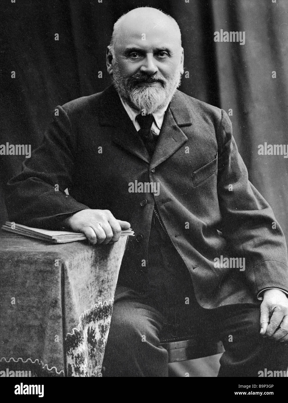 Russian composer Mily Balakirev 1836 1910 Stock Photo