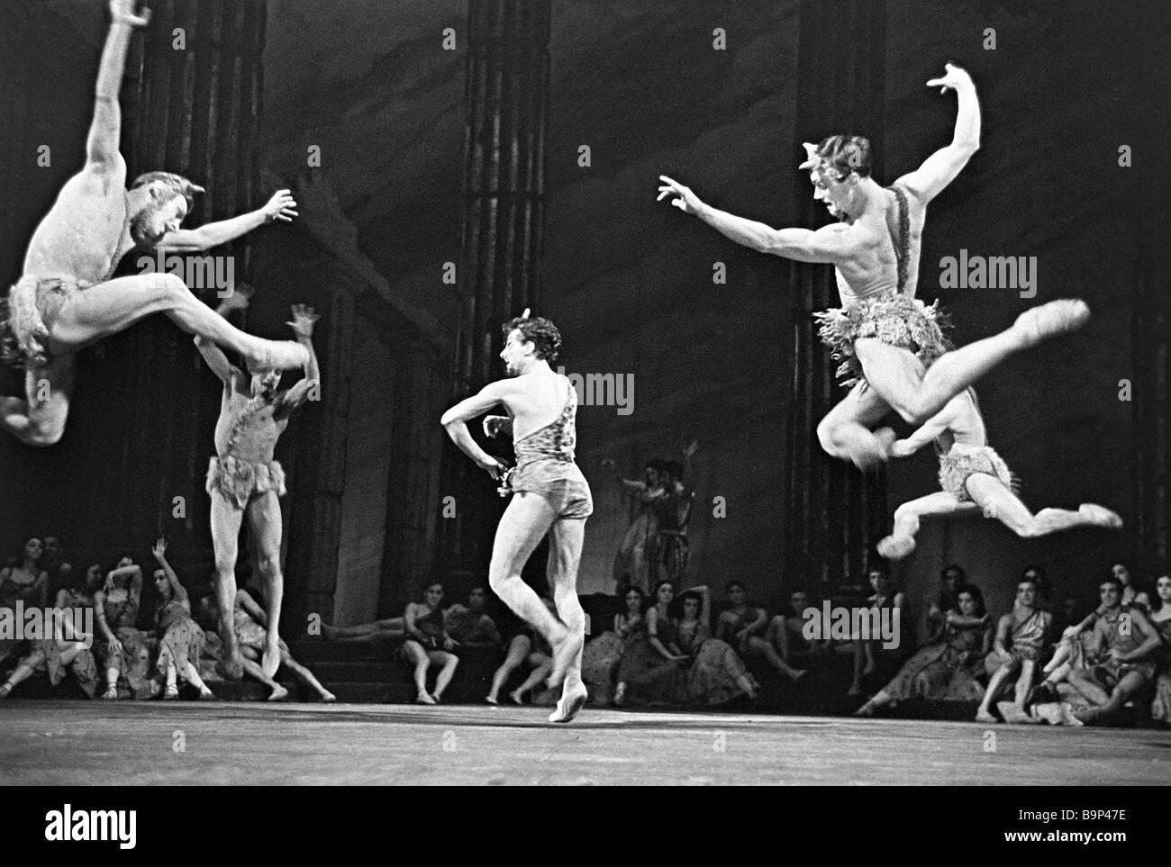 Gounod s Faust on at the Kirov Opera Leningrad 1961 The Walpurgis Night ballet scene - Stock Image