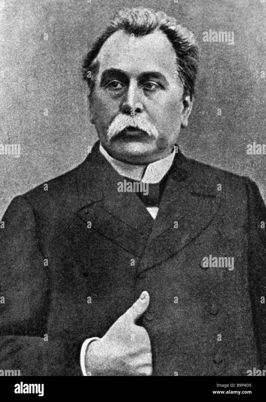 Pleve Vyacheslav Konstantinovich: biography 75