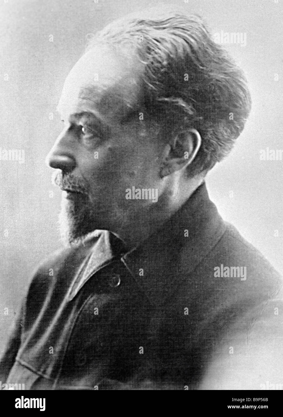 Creator and first director of the Museum of Revolution in Moscow Sergei Mitskevich - Stock Image